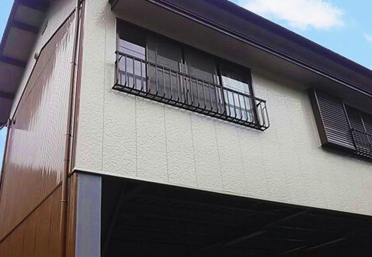 重県津市白山町K様 トタン外壁塗装、屋根塗装 鉄骨部分錆止め塗装