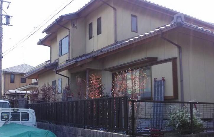 【外壁塗装前】三重県松阪市嬉野町 T様