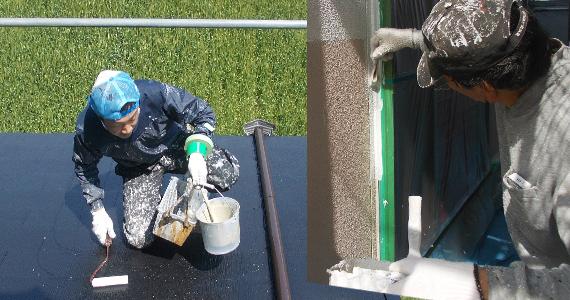 外壁・屋根の素材に適した塗料を選ぶ