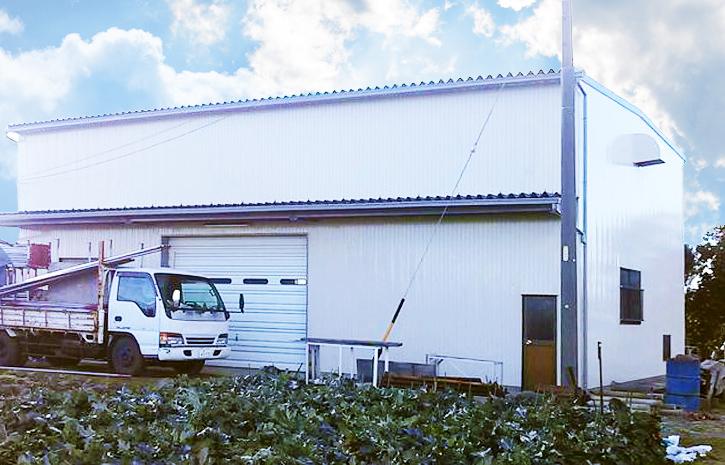 【農作業小屋の塗装】三重県松阪市 M様